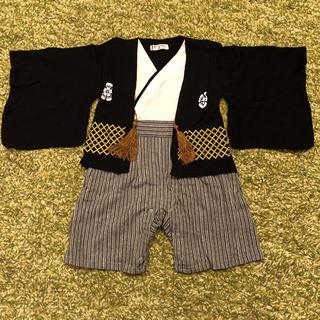 袴風カバーオール 80 足袋風靴下付き(カバーオール)