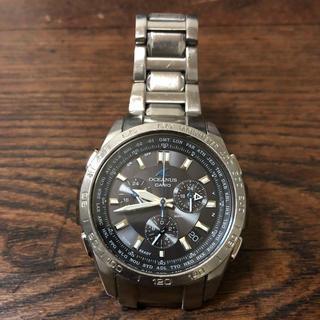カシオ(CASIO)のオシアナス  腕時計(金属ベルト)