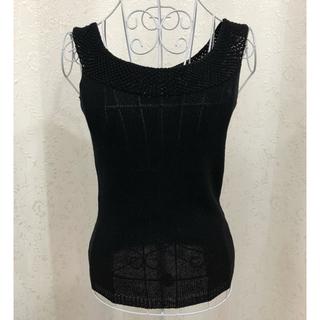 ラルフローレン(Ralph Lauren)のラルフローレン 黒ノースリーブタンクトップ(タンクトップ)