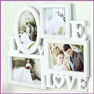 【お気に入り♪】フォトフレーム LOVE & LOVE デザイン(フォトフレーム)