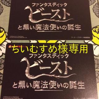【ちいむすめ様専用】ファンタスティックビーストと黒い魔法使いの誕生 ジュニア券(洋画)