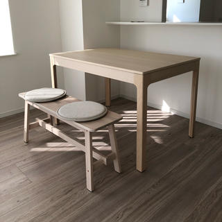 イケア(IKEA)の★新品★ ikea イケア ダイニングセット テーブル ベンチ(ダイニングテーブル)