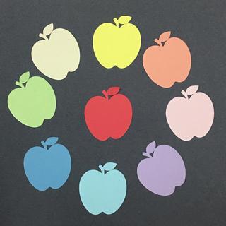 りんごのコメントカード☆アルバムなどに(アルバム)