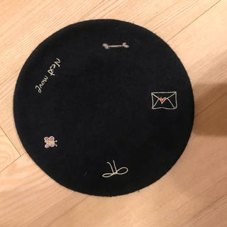 ザラ(ZARA)のzara刺繍ベレー帽ca4laザラbirthdaybashsearoomlynn(ハンチング/ベレー帽)