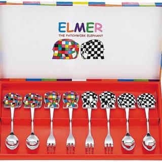 ELMER/エルマー スプーン&フォーク8ピースセット(スプーン/フォーク)