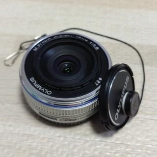 オリンパス(OLYMPUS)のOLYMPUS パンケーキレンズ 17mm F2.8(レンズ(単焦点))