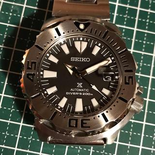 セイコー(SEIKO)のセイコー 国産 ブラックモンスター(腕時計(アナログ))