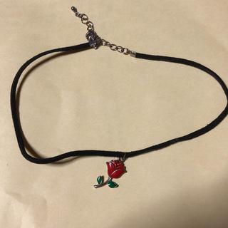 ダブルシー(wc)の薔薇のチョーカー(ネックレス)