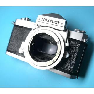 ニコン(Nikon)の美品! かわいいデザイン フィルム一眼レフ NIKON NIKOMAT(フィルムカメラ)