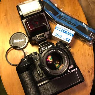 ニコン(Nikon)のニコン Nikon FE2 ブラックフルセット!(フィルムカメラ)