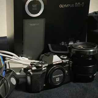 オリンパス(OLYMPUS)のOLYMPUS E-M5 Mark II 12-40mm レンズキット(ミラーレス一眼)