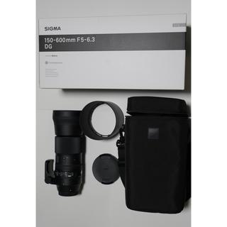 シグマ(SIGMA)のSIGMA 150-600mm F5-6.3 DG Contemporary(レンズ(ズーム))