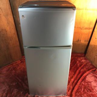 サンヨー(SANYO)の近郊送料無料♪ 112L 冷蔵庫 静音化設計モデル 上にレンジが置ける(冷蔵庫)