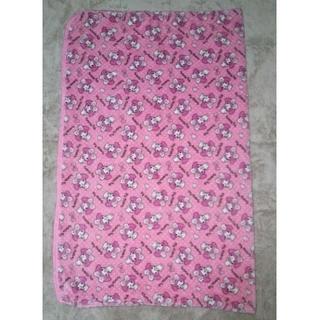 可愛らしいマイメロ毛布(毛布)