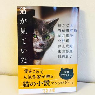 猫が見ていた/湊かなえ.加納朋子.柚月裕子.井上荒野.東山彰良.有栖川有栖(文学/小説)