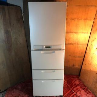 トウシバ(東芝)の近郊送料無料♪ 370L 4ドア冷蔵庫 東芝 GR-373BK(冷蔵庫)