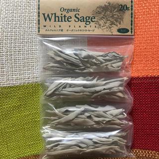 ◎カルフォルニア産 無農薬 上質リーフ 20g ホワイトセージ(お香/香炉)