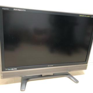 シャープ(SHARP)のテレビ SHARP AQUOS 37型 送料込(テレビ)