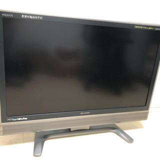 シャープ(SHARP)のテレビ37型、BDレコーダーセット 送料込(テレビ)