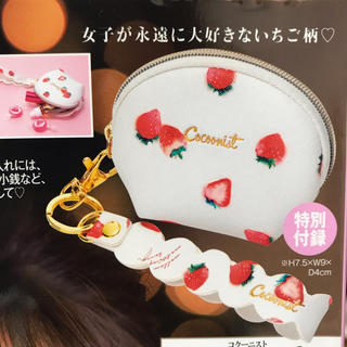 コクーニスト(Cocoonist)の美人百花 12月号 付録(ポーチ)