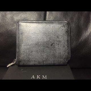 エイケイエム(AKM)の新品AKM5.4万円16AWブライドルレザーフルジップウォレット二つ折り財布(折り財布)