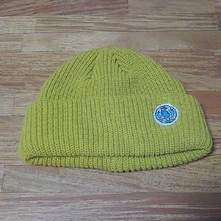チチカカ(titicaca)のニット帽 からし色(ニット帽/ビーニー)