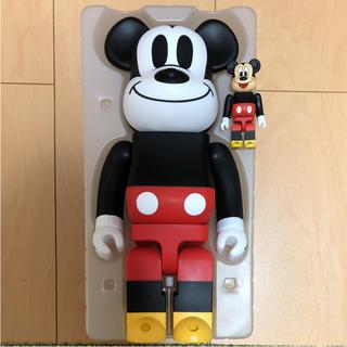MEDICOM TOY - ベアブリック  ミッキーマウス  400%  新品同様 100 1000