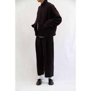 アンユーズド(UNUSED)のURU 18aw cotton short jacket(テーラードジャケット)