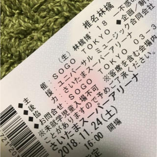 椎名林檎 さいたまスーパーアリーナ チケット(国内アーティスト)