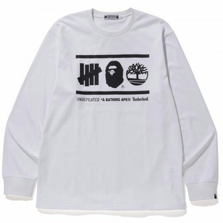 A BATHING APE - UNDEFEATED BAPE TIMBERLAND L/S TEE XL 正規
