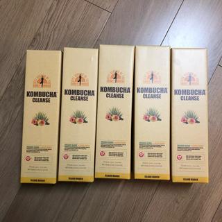 コンブチャクレンズ 5本セット(ダイエット食品)