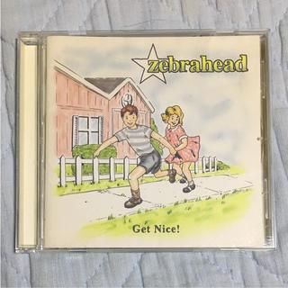 ゲット・ナイス! CD ゼブラヘッド(ポップス/ロック(洋楽))