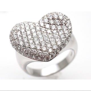 ポンテヴェキオ(PonteVecchio)の正規品 ポンテヴェキオ ハート ダイヤモンドリング(リング(指輪))