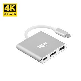 Type C to HDMI変換アダプタ C ハブ PD充電  C変換アダプタ(映像用ケーブル)
