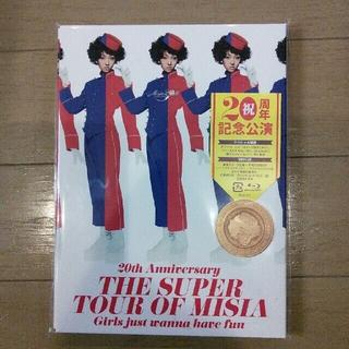 新品未開封 THE SUPER TOUR OF MISIA 初回盤Blu-ray(ミュージック)