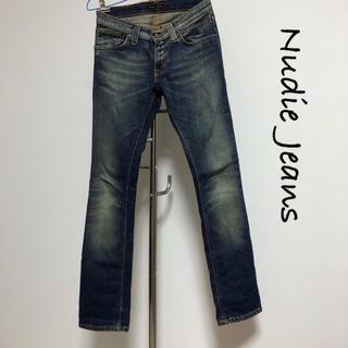 ヌーディジーンズ(Nudie Jeans)のNudie Jeans / スキニーデニム / W26 L30 / イタリア製(デニム/ジーンズ)