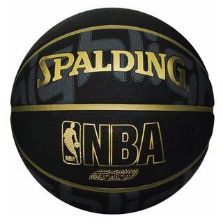 スポルディング  バスケットボール 7号 ブラック(バスケットボール)