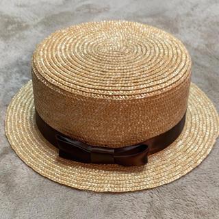 カンカン帽(麦わら帽子/ストローハット)