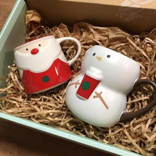 スターバックスコーヒー(Starbucks Coffee)のスターバックス★ホリデー2018 マグサンタ スノーボーイ★クリスマス(グラス/カップ)