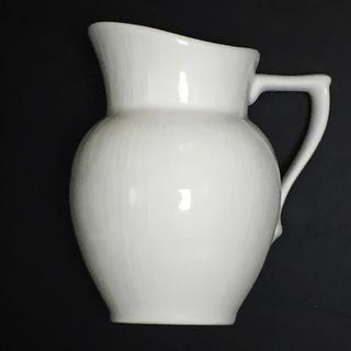 ロイヤルコペンハーゲン(ROYAL COPENHAGEN)のロイヤルコペンハーゲン  ホワイトフルーテッド クリーマー 超美品 (グラス/カップ)