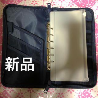 ムジルシリョウヒン(MUJI (無印良品))のMUJIパスポートケースネイビー(旅行用品)
