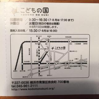こどもの国 チケット(遊園地/テーマパーク)
