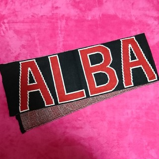 アルバローザ(ALBA ROSA)のALBAROSA●デカロゴマフラー●(マフラー/ショール)