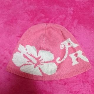 アルバローザ(ALBA ROSA)の同封値下げ専用★ALBAROSA●ニット帽●ピンク(ニット帽/ビーニー)
