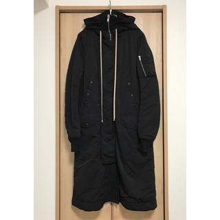 ダークシャドウ(DRKSHDW)の【XS】rickowens drkshdw hooded bomber long(モッズコート)