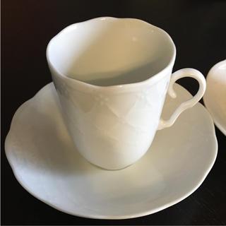 ミキモト(MIKIMOTO)のミキモトインターナショナル ペアカップ&ソーサー(グラス/カップ)