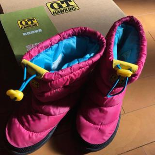 ジーティーホーキンス(G.T. HAWKINS)のGT ホーキンス スノーブー19センチ ピンク(ブーツ)