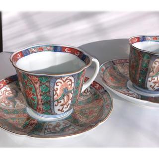 古伊万里 コーヒーカップ  2セット(グラス/カップ)