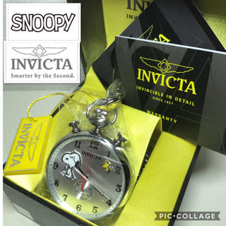 インビクタ(INVICTA)の《限定》 インビクタ INVICTA × スヌーピー  公式コラボ 懐中時計(腕時計(アナログ))