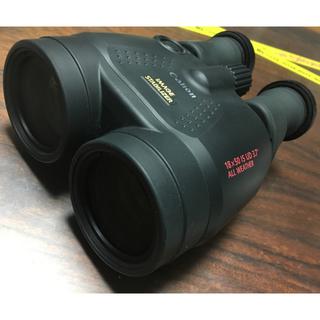 キヤノン(Canon)の希少なハイスペック機 CANON キャノン 防振双眼鏡 IS 18×50 IS(その他)